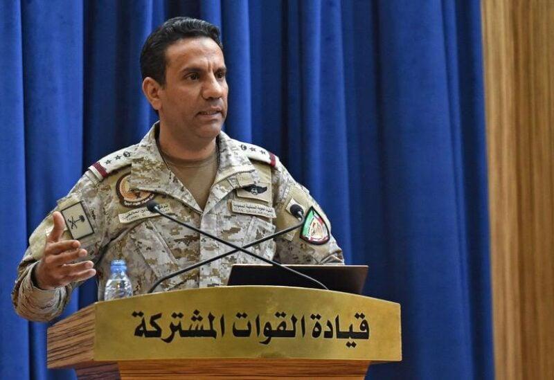 Saudi-led coalition spokesman, Colonel Turki Al Malki