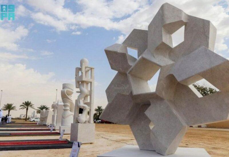 Saudi sculpture symposium