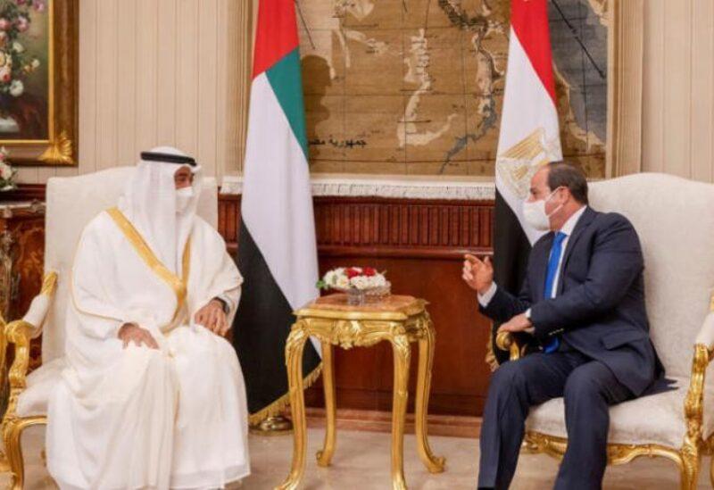 Sisi, Mohamed Bin Zayed