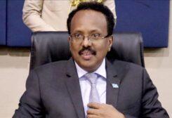 Somali president Mohamed Abdullahi Mohamed