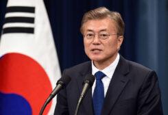 South Korean President Moon Jae-in's