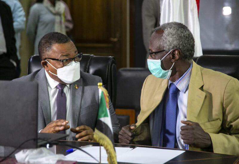 Sudanese Foreign Minister Omar Gamar Aldin