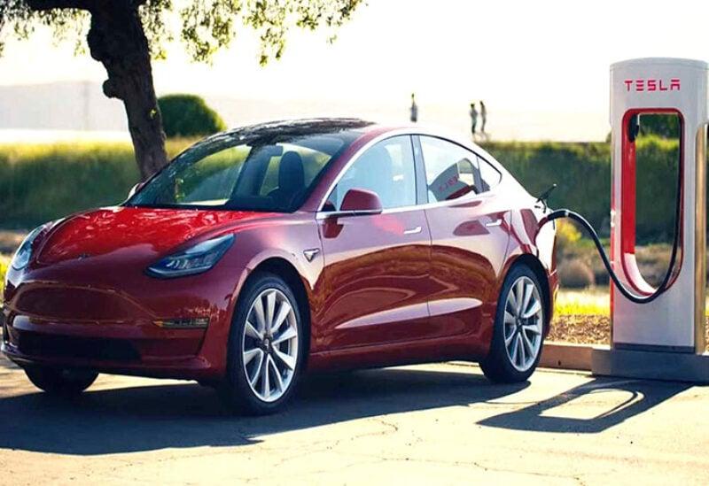 Tesla' electric vehicles