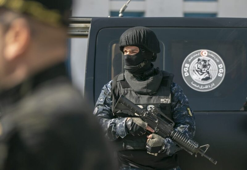 Tunisian police officer