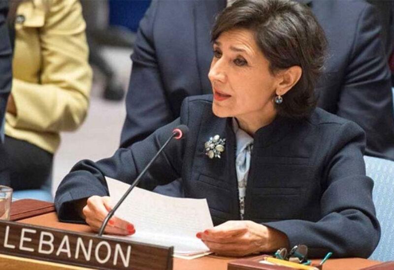 Lebanon's UN representative Amal Mudallali