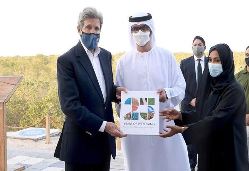 US Envoy John Kerry meets with Arabs in UAE