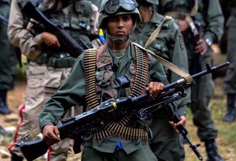 Venezuelan army soldier