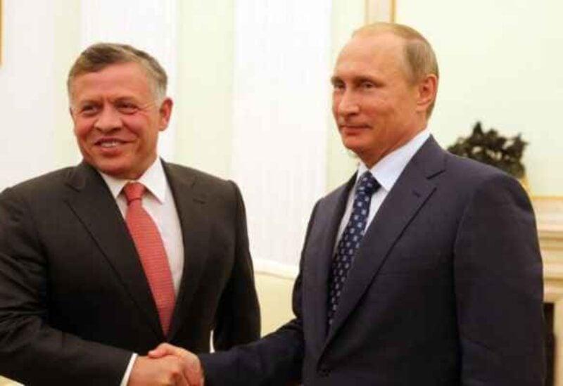 Vladimir Putin, King Abdullah- Archive