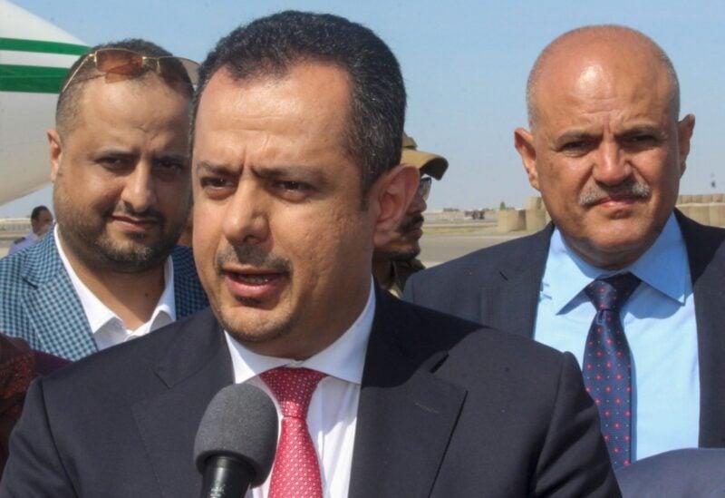 Yemen's Prime Minister Maeen Abdulmalik Saeed