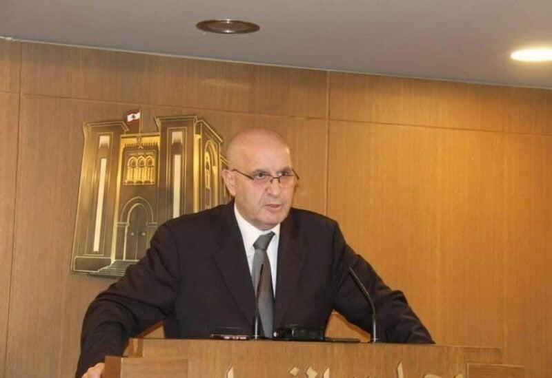 MP Assem Araji, head of the parliamentary health committee