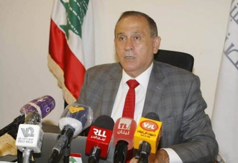 Lebanon's caretaker Minister of Industry, Dr Imad Hoballah