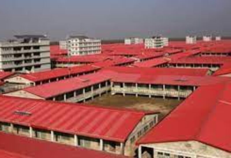 housing complex for Rohingya refugees
