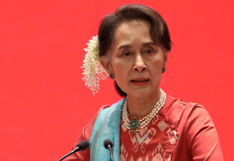 FILE PHOTO: Myanmar's State Counsellor Aung San Suu Kyi attends Invest Myanmar in Naypyitaw, Myanmar, January 28, 2019.