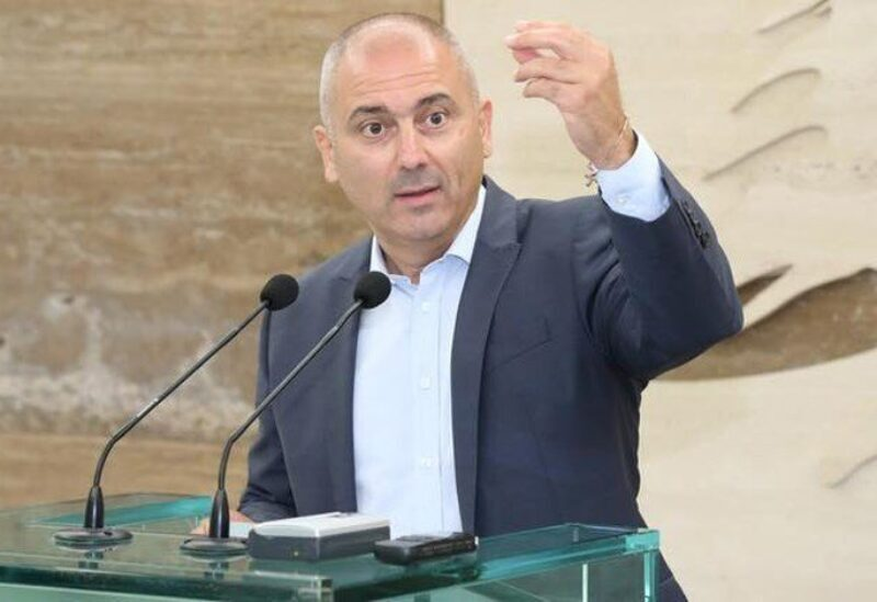FILE PHOTO: Elie Mahfoud, head of the Movement for Change