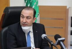 Lebanon's caretaker Agriculture Minister Abbas Mortada