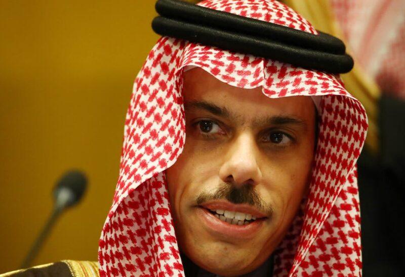 Saudi foreign minister Faisal Bin Farhan Al Saud