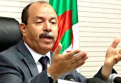 Algeria Justice Minister Belkacem Zeghmati