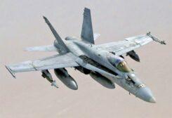 American F-18 aircraft