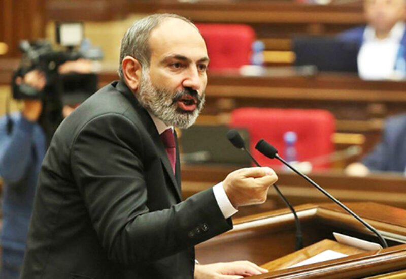 Armenia's acting Prime Minister Nikol Pashinyan
