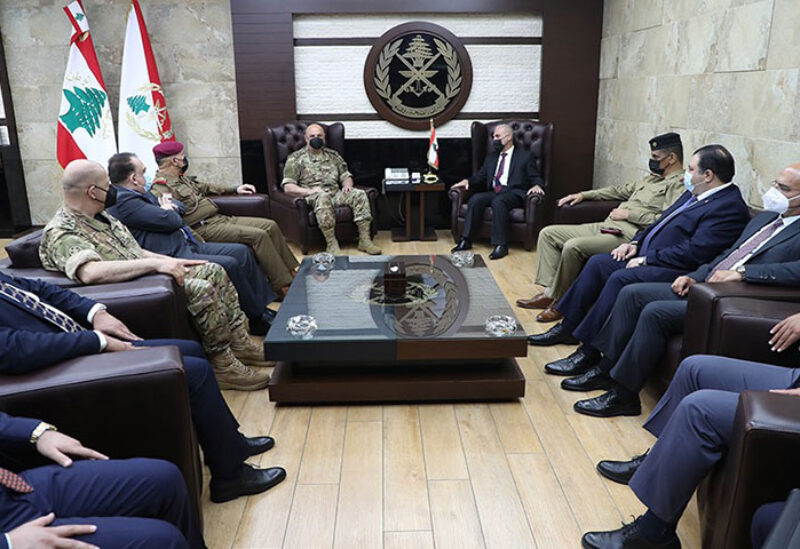 Army Chief meeting with Iraqi delegation