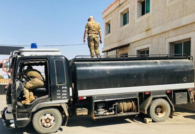 Army thwarted an attempt to smuggle diesel fuel Archive