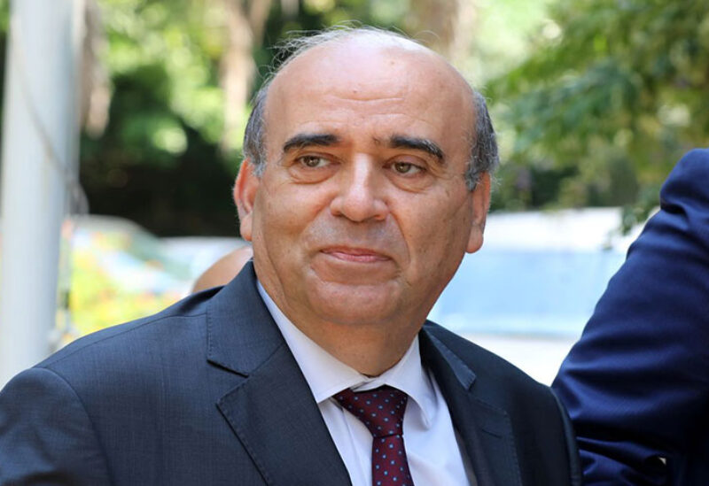 Caretaker Foreign Minister Charbel Wehbeh