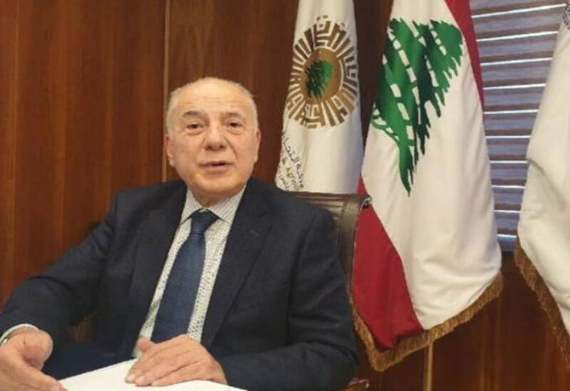 Chairman of Chamber of Commerce Toufic Dabbousi