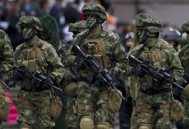 Colombian commandos