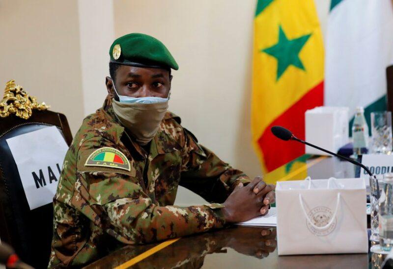 Colonel Assimi Goita, leader of Malian military junta