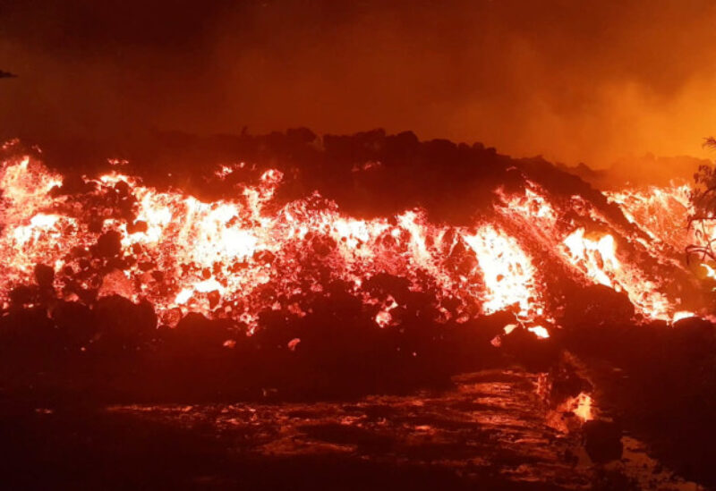 DR Confo, volcano