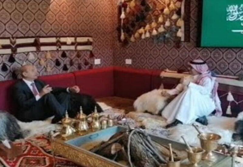 Delegations visiting Ambassador Bukhari in Yarze
