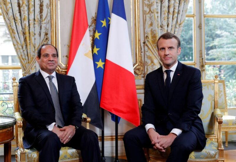 Egyptian and French presidents , Archive