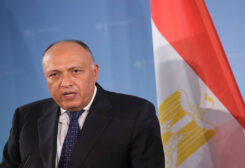Egypt's foreign minister Sameh Shoukry