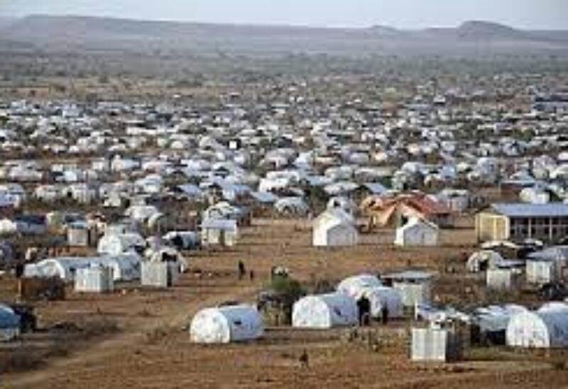 Ethyopian refugee camp