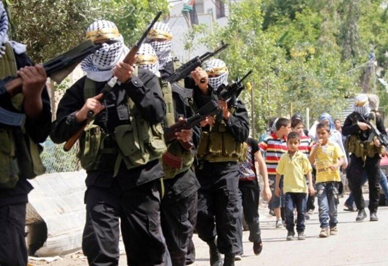 Fatah fighters