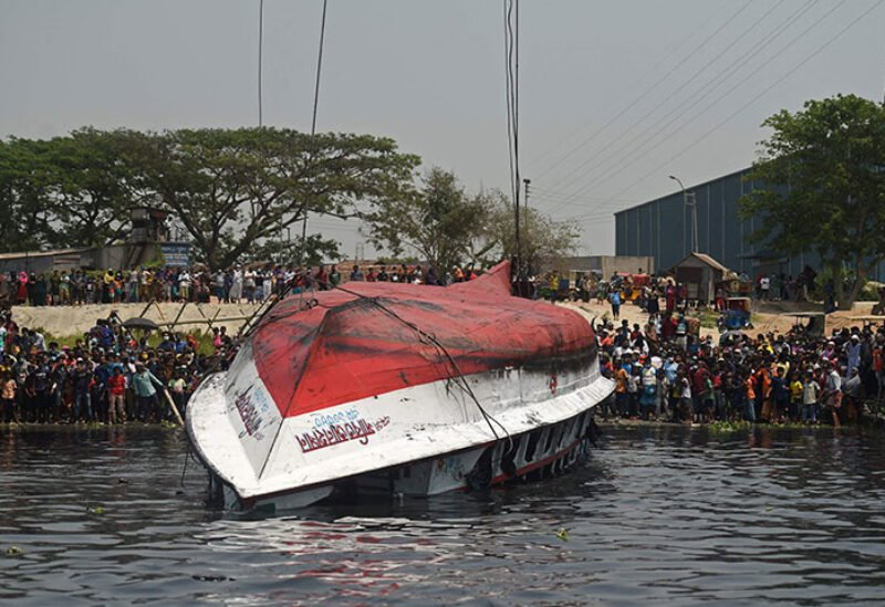 Ferry accident in Bangladesh