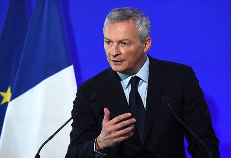 Finance Minister Bruno Le Maire