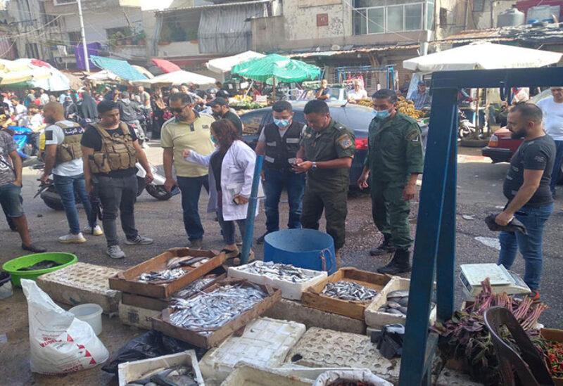 Fish market in Sabra