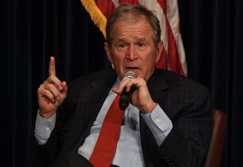 Former US President Georges Bush
