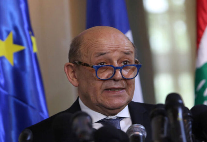 French Foreign Minister Le Drian