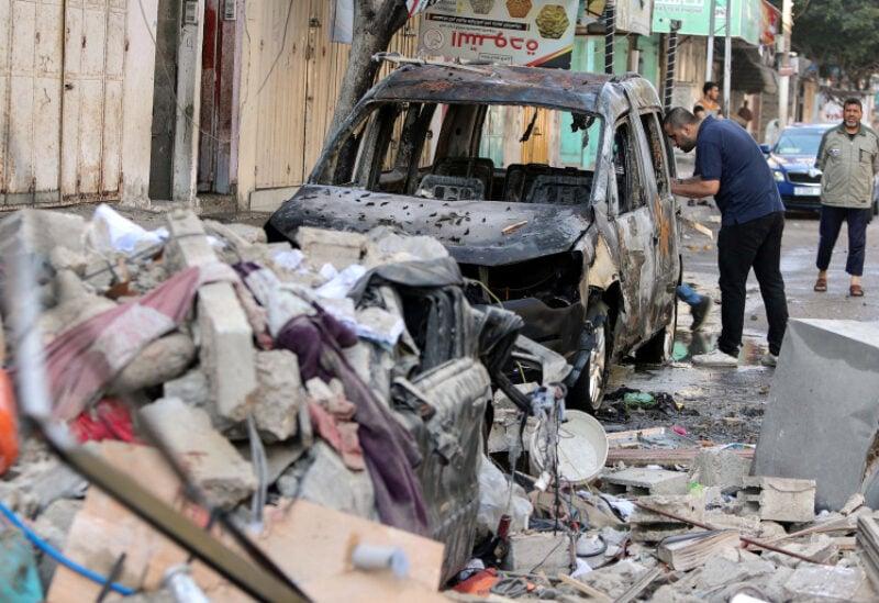 Gaza, fighting aftermath