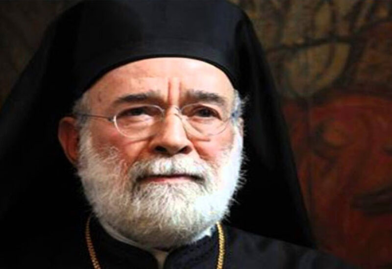 Greek Orthodox Church of Antioch for the Archdiocese of Beirut, Archbishop Elias Audi,