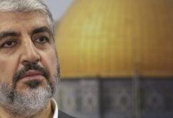 Head of Hamas' foreign political bureau Khaled Meshaal