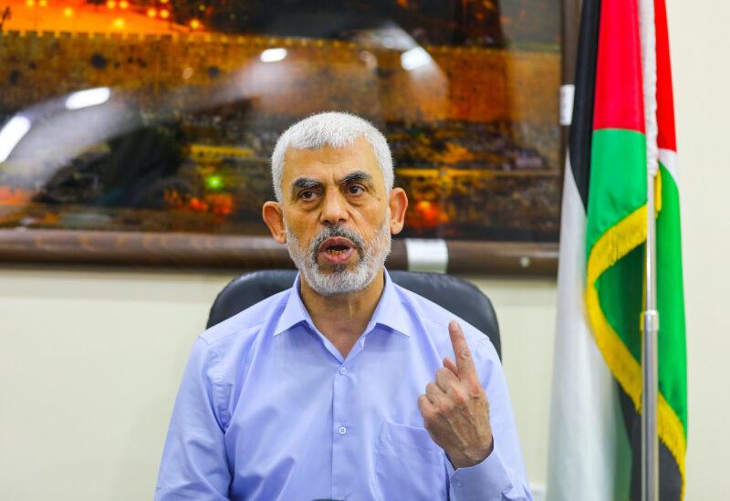 Head of Hamas movement in Gaza Strip, Yahya Sinwar