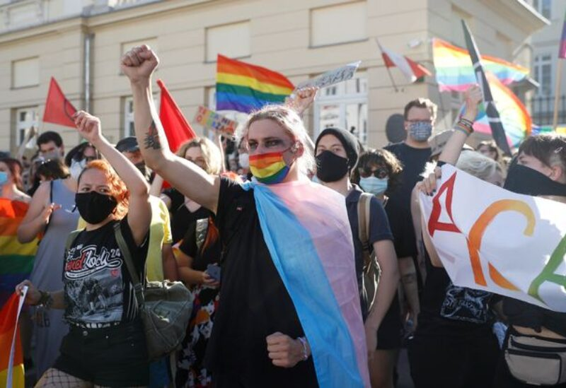 Homosexual demonstration