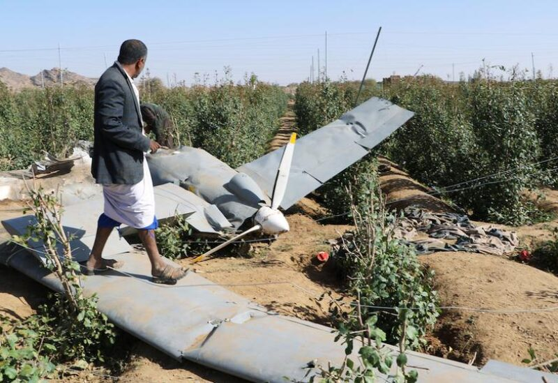 Houthi drone, Archive
