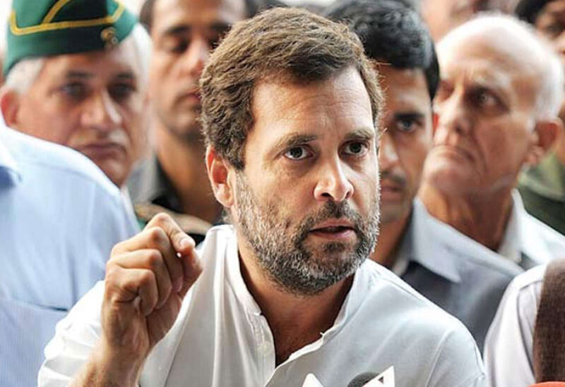 Indian opposition leader Rahul Gandhi