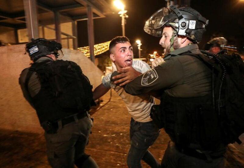 Isaeli raids on Palestinians in Jerusalem