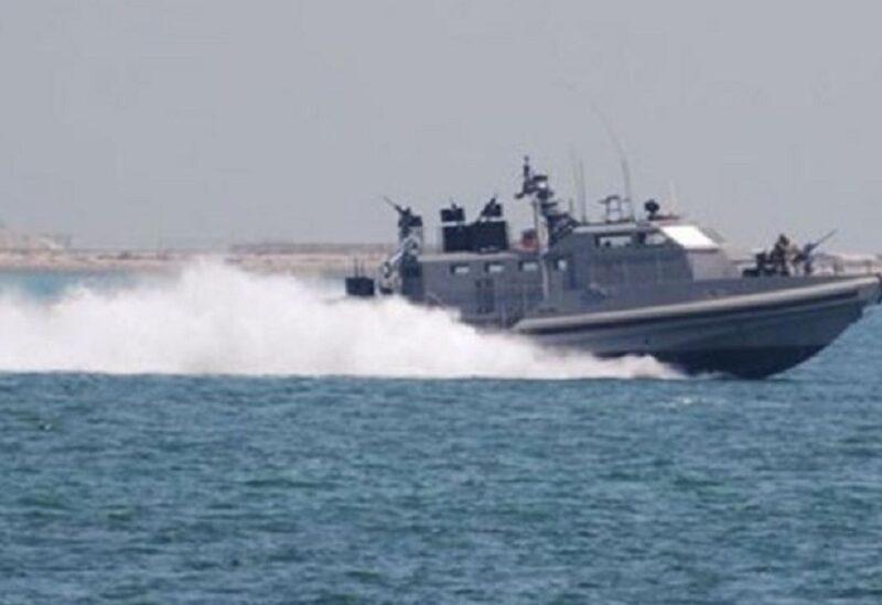 Israeli military boat