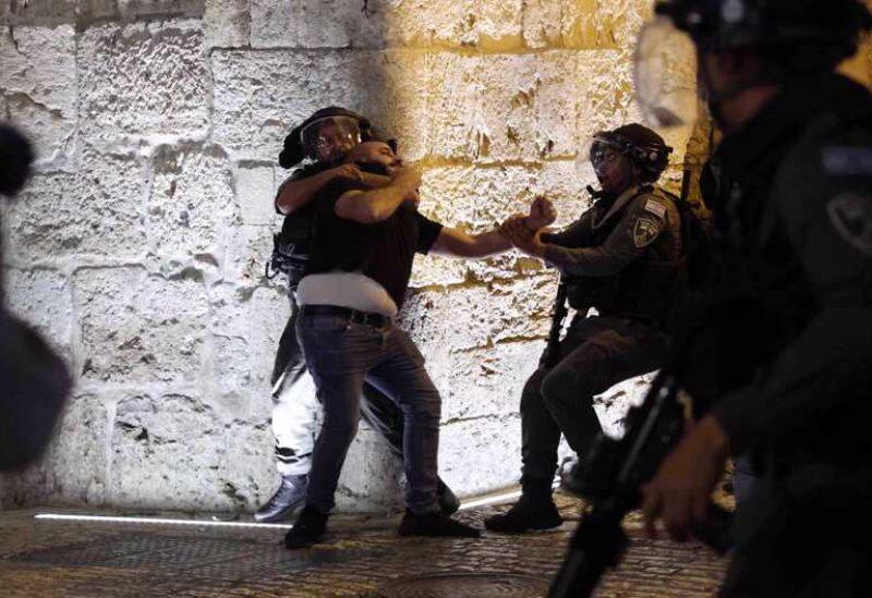 Israeli oppression against Palestinians.